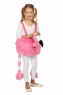 WIL - Kinder Kostüm Flamingo zum Überhängen Karneval Fasching