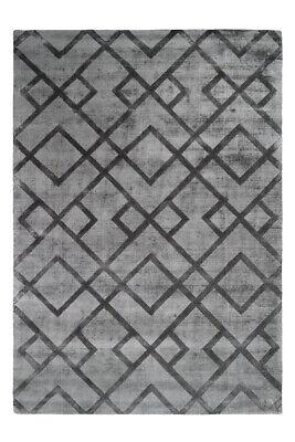 3D Teppich Azteken Muster Struktur Design Teppiche Grau Grün