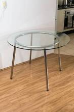 Glass Dining Table Dulwich Hill Marrickville Area Preview