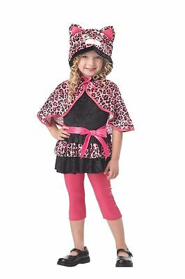 Cutesy Kitty Costume for Toddlers size 3-4 by California Costume