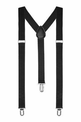Braces Suspenders Adjustable Slim Unisex Men Ladies Trouser