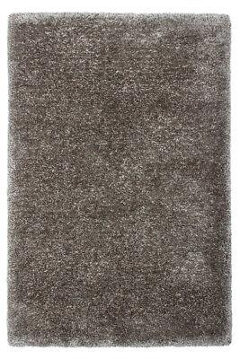 Shaggy Shaggy Rug Rugs Soft Gloss Taupe Beige Grey 120X170cm