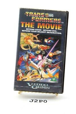 Transformers the Movie - Video Gems VHS PAL format Release Transformers