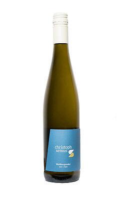 6 x 2019er Weißburgunder trocken Weingut Semus Nahe Weißwein