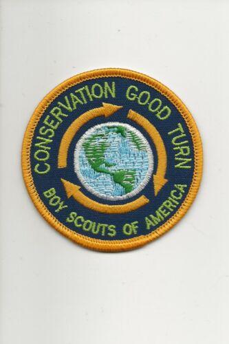 CONSERVATION  GOOD  TURN  Patch  - Boy Scout BSA A132/7-24