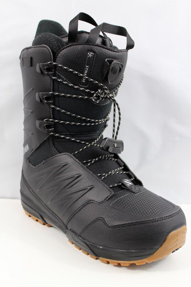 Salomon Synapse Wide JP Snowboard Boots Men's Size 8.5W Blac