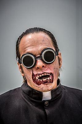 Zombiemaske SFX aus Naturlatex Mundregion Latexmaske Halloweenkostüm - Latex Zombie Kostüm