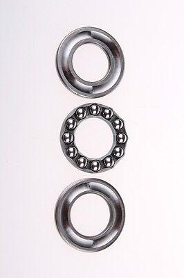 2pcs Axial Ball Thrust Bearing 10mm X 26mm X 11mm 51200