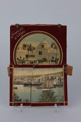 Souvenir de Alger  Hinterglasansicht, 1920er Jahre