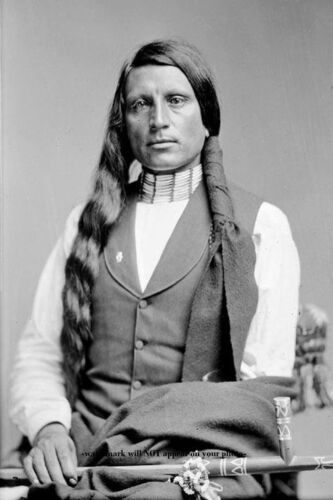 Chief Red Shirt PHOTO Oglala Lakota Native American Buffalo Bill Wild West Show