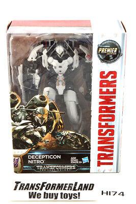 Nitro Premier Edition Sealed MISB Voyager The Last Knight TLK Transformers