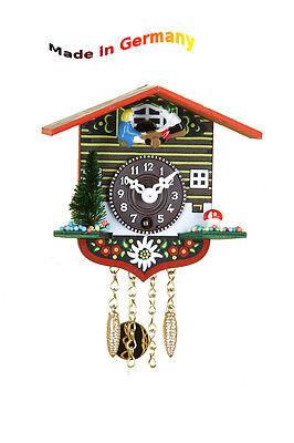 Miniatura Orologio a pendolo,Quarz- o. Movimento vento chiave,Altalena,