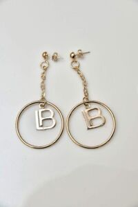 Laura Biagiotti Earrings Hand Made And Made In Italy