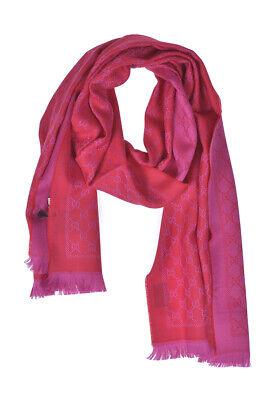 Gucci Schal Stole Foulard Frau MADE IN ITALY Rot 4111153G200 6472 Gr. U ANGEBOT