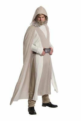 Rubies The Last Jedi Star Wars Luke Skywalker Deluxe Halloween Kostüm 820700 ()