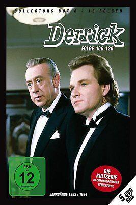 5 DVDs * DERRICK - COLLECTOR'S  BOX 8 | HORST TAPPERT - FRITZ WEPPER # NEU OVP ! online kaufen