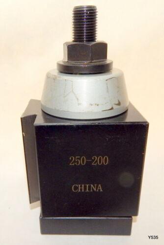 Piston Type Locking Steel Quick Change Lathe Tool Post 250-200