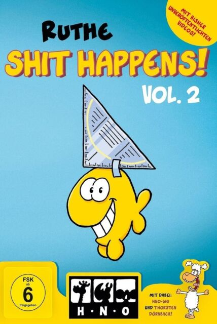 RALPH RUTHE - SHIT HAPPENS! VOL.2   DVD NEU