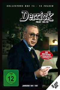 5 DVDs * DERRICK - COLLECTOR'S  BOX 14   HORST TAPPERT - FRITZ WEPPER  # NEU OVP