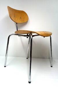 Real Vintage Egon Eiermann SE 68 Wilde und Spieth Stuhl Chair