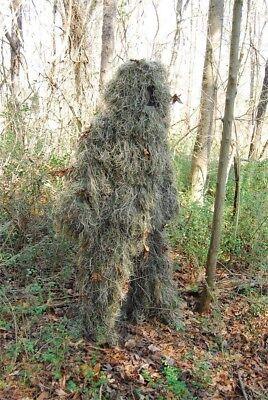 Ghillie Suit Pants (Lightweight Woodland Ghillie Suit Camo Sniper Jacket Pants Set -)