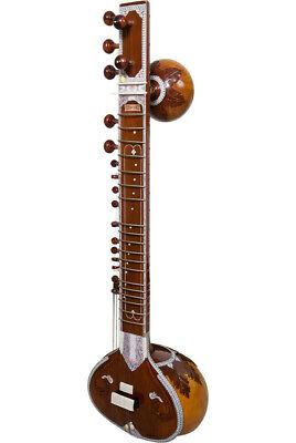 banjira Shankar Style 7-String Standard Sitar Light Finish with Gig Bag
