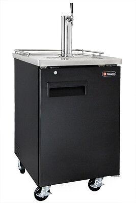 Kegco Commercial Grade Homebrew Kegerator Single Tap Keg Dispenser Black
