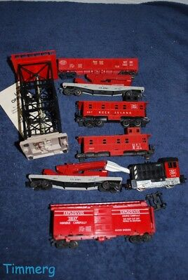 Lot Of Vintage Lionel Ho Trains Parts   Pieces