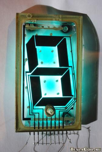 ILC1-1/7 Giant VFD Tube For Vintage Nixie Clock