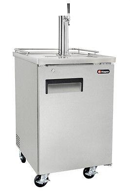 Kegco Commercial Grade Homebrew Kegerator Single Tap Keg Dispenser Stainless