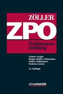 Zöller,  Zivilprozessordnung, 31. Auflage 2016