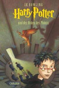 Harry Potter und der Orden des Phönix Band 5 v. Joanne K. Rowling Carlsen Verlag