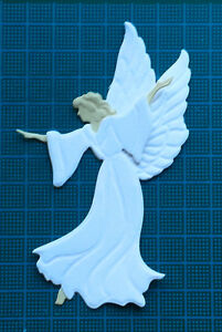 5 angel paper die cut card toppers Leane Creatief religious easter baptism baby