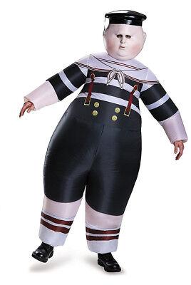 Tweedle Dum Tweedle Dee Costume (Tweedle Dee-Tweedle Dum INFLATABLE Costume Adult Alice in Wonderland-)