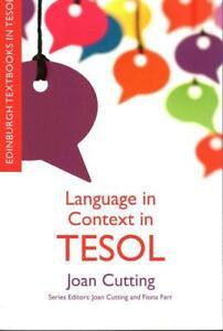 Cutting-Language In Context In Tesol  BOOK NEU