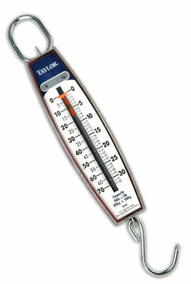 Taylor 3070 Industrial Vertical Hanging Scale W Hook 70 Pound 32 Kg Capacity