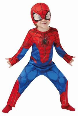 Rub - Marvel Classic Kinder Kostüm Spiderman Karneval - Marvel Kind Kostüme