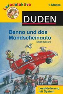 Lesedetektive - Benno und das Mondscheinauto, 1. Klasse ... | Buch | Zustand gut