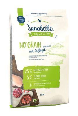 Sanabelle No Grain Aves de Corral 10KG - sin Cereales Comida para...