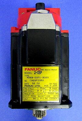 Fanuc Robotics 1-0sp Ac Servo Motor A06b-0371-b069 Jh