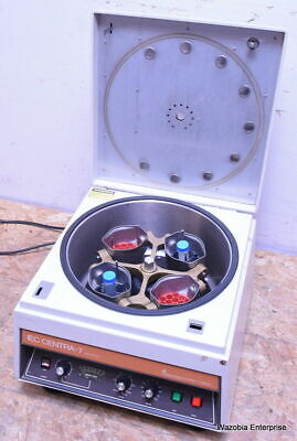 IEC CENTRA-7 WITH ROTOR AND BUCKETS CENTRIFUGE