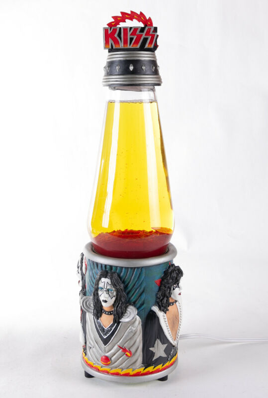 Vintage KISS Lava Lamp from 1999. Limited Edition - Authentic & Licensed