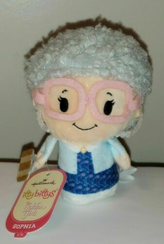 HALLMARK Itty Bittys GOLDEN GIRLS Sophia Petrillo Estelle Getty NWT Plush Toy