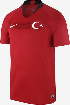 NIKE 2018 TURKEY HOME STADIUM SOCCER JERSEY MENS 2XL 893900 657  RETAIL $90 image