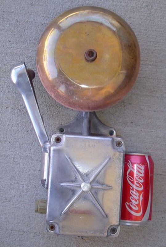 Authentic Life Boat Alarm Bell - BIG SHIP SALVAGE