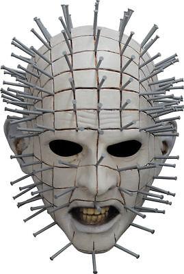 Morris Costumes Hellraiser Iii Pinhead Latex Mask One Size. TB10322 - Hellraiser Pinhead Mask