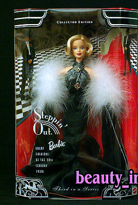 Steppin' Out Thirties 30's Great Fashions of the 20th Century Barbie Doll