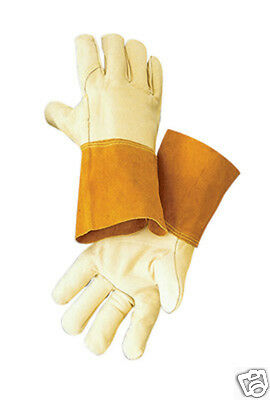New Radnor Large Cowhide Industrial Migtig Welders Work Gloves Rad64057865
