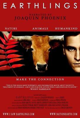 Earthlings  Dvd  Special Extended Edition Vegan Documentary Joaquin Phoenix New