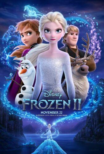 Frozen II 2 - original DS movie poster - D/S 27x40 - 2019 Style C